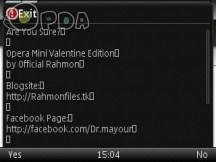How to Make OperaMini Exit Dialog Box Full Screen [Symbian s60v3 Only!]